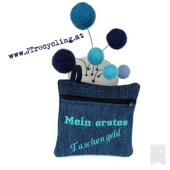 MEIN ERSTES TASCHENGELD - www.JTrecycling.at - miniZIPPtascherl