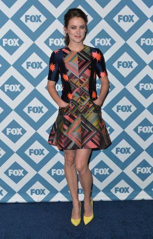 #JessicaStroup au lancement de la programmation de la chaîne Fox.