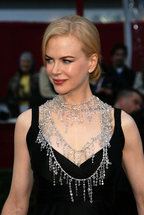 Nicole Kidman in a diamond rope necklace by L'Wren Scott