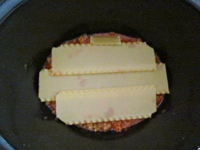 Brandie's Crock Pot Lasagna