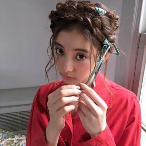 髪型が可愛い新木優子