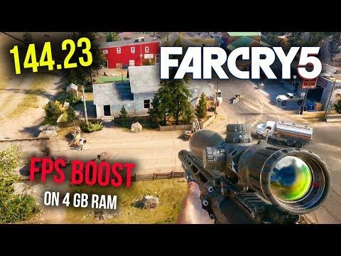 How To Play Far Cry 5 In Low End Pc With High Fps Run Far Cry 5 In 4gb Ram Gt 630 In 60fps Fps Far Cry 5 Crying