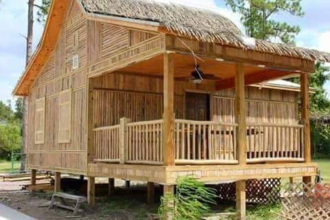 50 Images Of Different Bahay Kubo Or Small Nipa Hut Bamboo House Design Hut House Small House Design