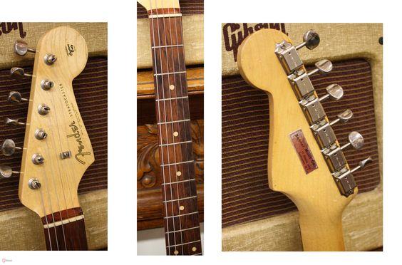 1961 Fender Stratocaster Sunburst > Guitars : Electric Solid Body - Lark Street Music