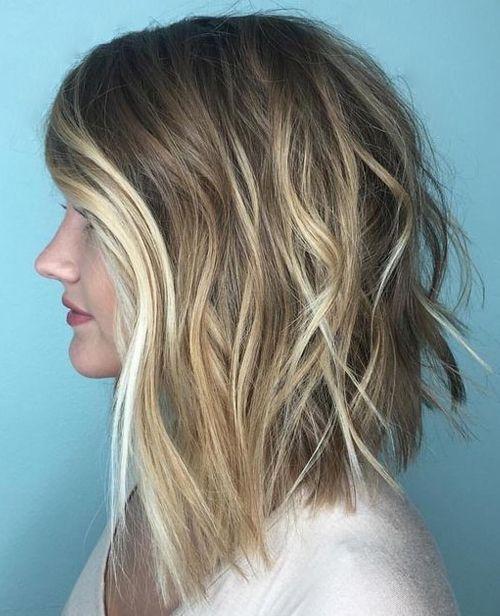 35+ Medium layered lob haircuts trends