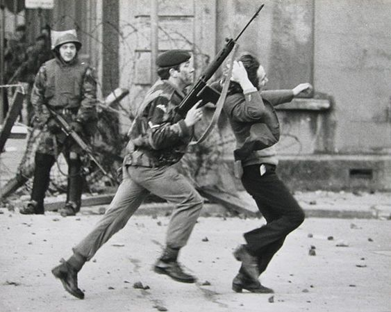 The brutality and inhumanity of the British Army - Bloody Sunday Derry 1972