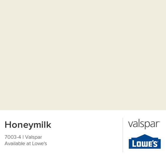 Honeymilk from Valspar. 5 Fixer Upper Paint Colors & 25 Decorating Ideas.