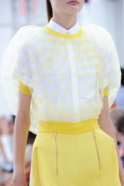 forlikeminded:  Delpozo - New York Fashion Week - Spring 2015