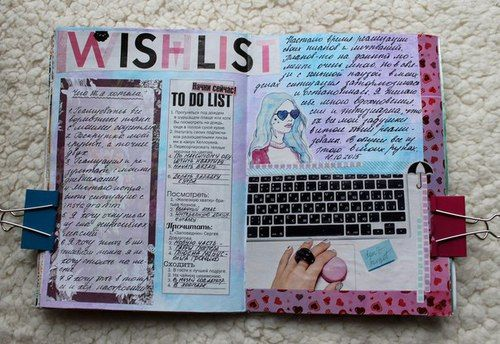 Pin By Valeria Segura On Ideas Scrap Paper Bow Wreck This Journal Sketch Book