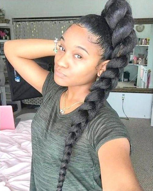 Lovely 40 Single Or Individual Braids You Must Love New Natural Hairstyles Box Braids Hairstyles Braided Hairstyles Weave Hairstyles Braided