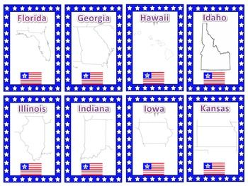 Transformative image intended for states and capitals flash cards printable