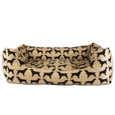 Spaniel print dog bed.  £79.50