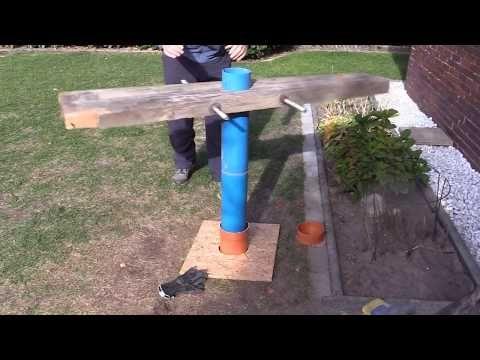 Brunnenbohren Von Hand Zur Bewasserung Teil 1 Schritt Fur Schritt