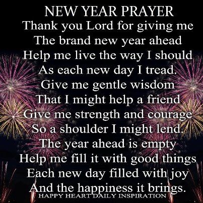 Image result for new years prayer