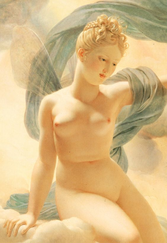 Pierre Narcisse Guerin. Detail from Morpheus and Iris, 1811.