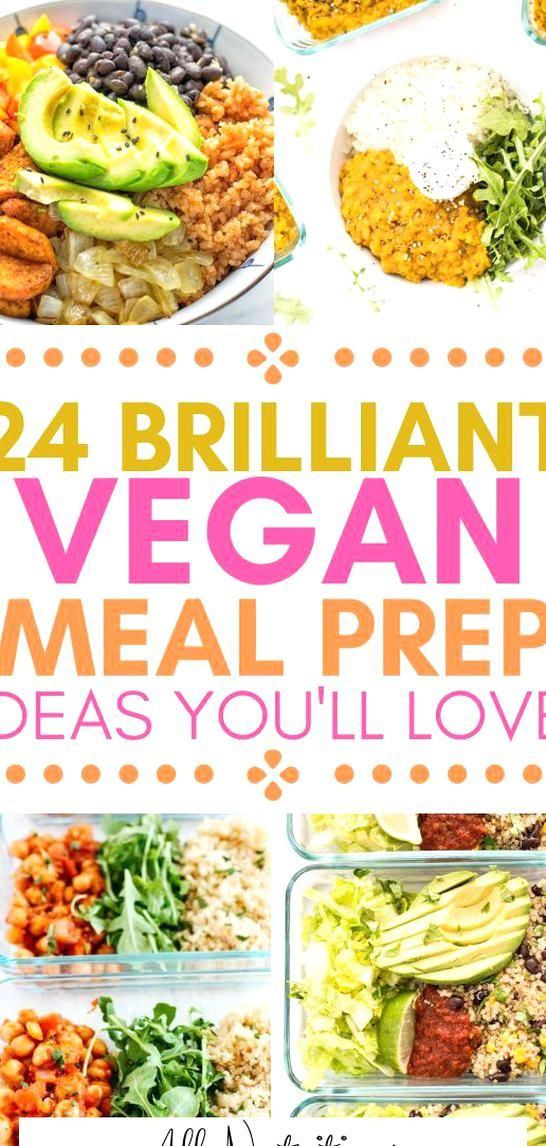 Try These Tasty Vegan Recipes Meal Prep For A Week And Enjoy Eating Healthy Meals Having A Meal Plan Will Help You To Get A In 2020 Vegan Recipes Vegan Meal