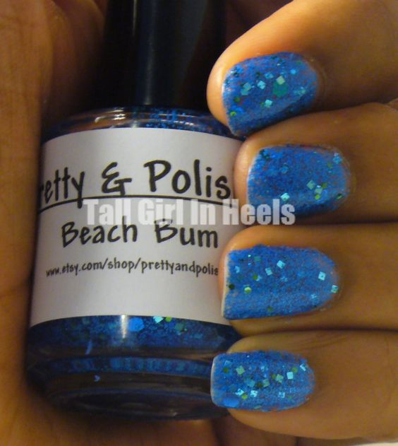 Tall Girl In Heels with Pretty Painted Nails: Pretty & Polished: Beach Bum