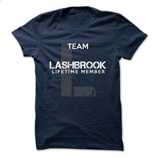 LASHBROOK - TEAM LASHBROOK LIFE TIME MEMBER LEGEND - #tshirt serigraphy #hoodie schnittmuster. CHECK PRICE => https://www.sunfrog.com/Valentines/LASHBROOK--TEAM-LASHBROOK-LIFE-TIME-MEMBER-LEGEND.html?68278