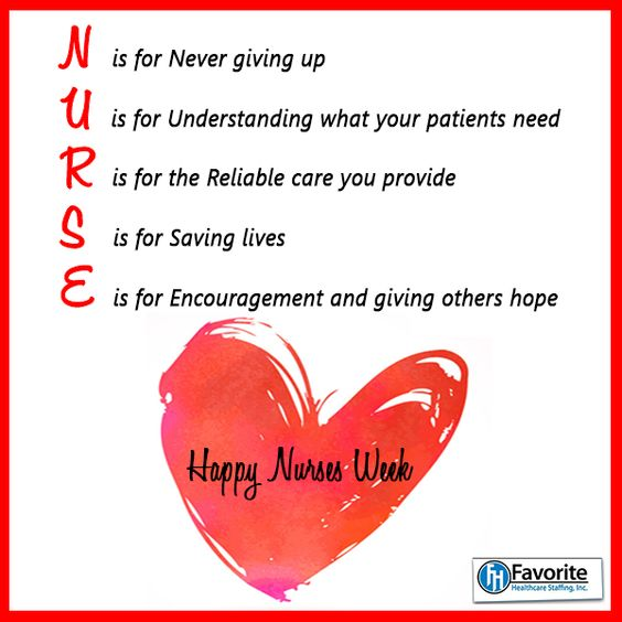 Thank You To All Nurses Everywhere For, Your Hard Work