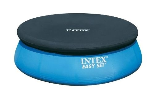 Intex 58939 Bache Pour Piscine Autostable 2 44 M Easy Set Pools Round Pool Pool Accessories