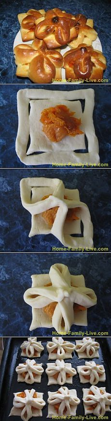 Булочки с курагой -рецеп булочки с курагой и морковьюКулинарные рецепты: