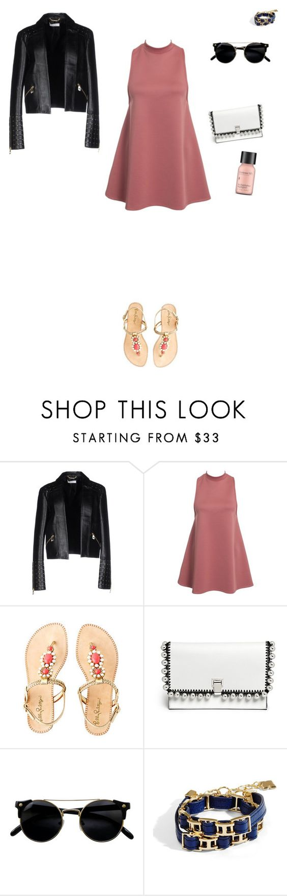 """Untitled #2255"" by anamaria-zgimbau ❤ liked on Polyvore featuring Versace, Lilly Pulitzer, Proenza Schouler, BCBGMAXAZRIA and Perricone MD"