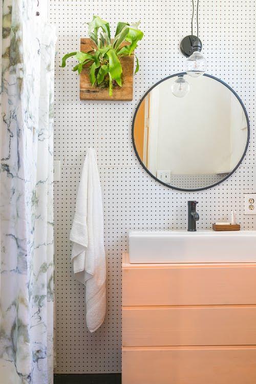 The Big Reveal Our 500 Rental Bathroom Makeover Simple Bathroom Simple Bathroom Designs Rental Bathroom