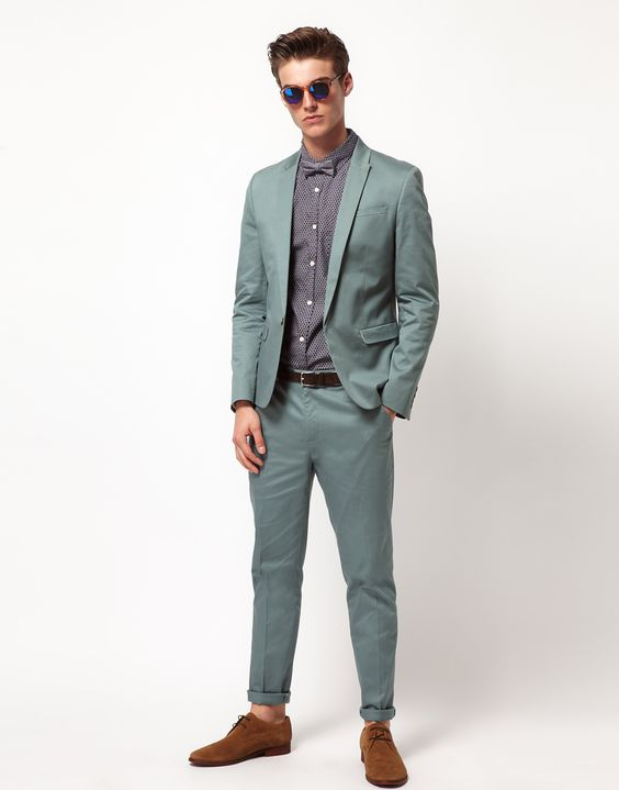ASOS Skinny Fit Suit Jacket :ASOS Skinny Fit Chino Suit Trousers