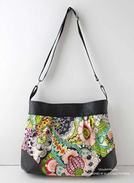 The Lily Pleated Bag PDF Pattern