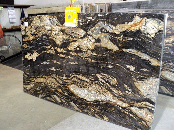 Magma Brown Granite Slab 31763