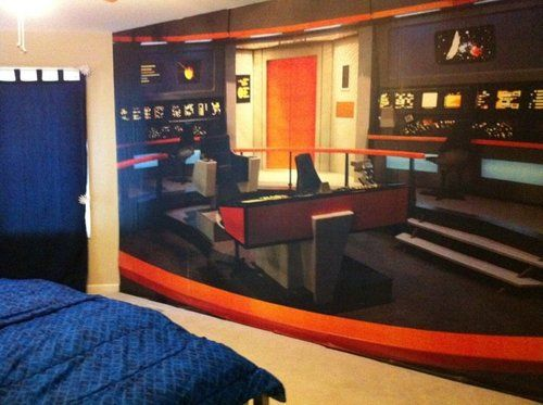 amazon com roommates jl1172m star trek bridge full size wall murals star trek pixersize com