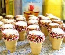 Waffelbecher-Muffins für Kinder