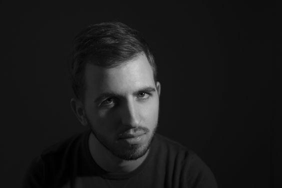 Portrait noir et blanc Marc
