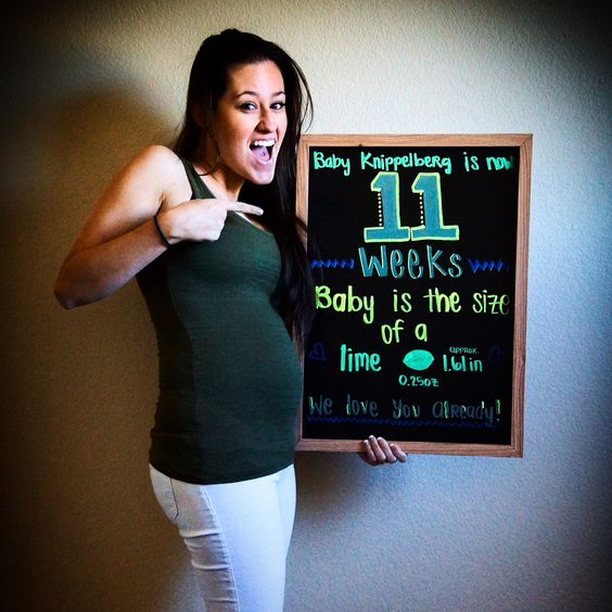 11 weeks pregnant chalkboard Track your pregnancy Baby ...