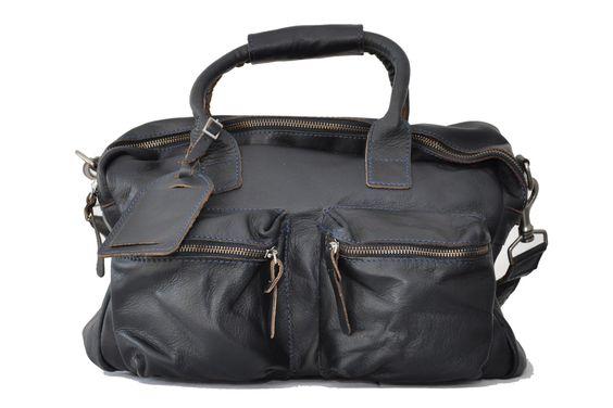 Cowboysbag THE BAG Cowboys Bag small Ledertasche von Cowboysbelt dunkelblau Marken Cowboysbelt