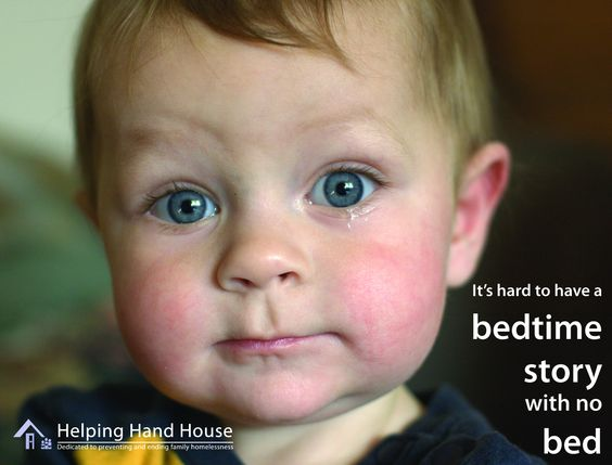http://helpinghandhouse.org It's hard to have a bedtime story without a bed. This is reality for homeless kids and families all across America. #homelessness #poverty #kids