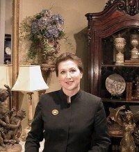 Inessa Stewart, Owner of Inessa Stewart's Antiques, www.inessa.com