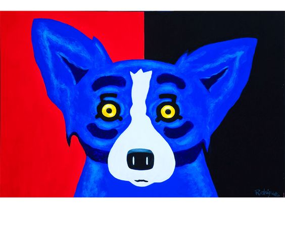 George Rodrigue Day and Night Electricity painting sale sites, painting