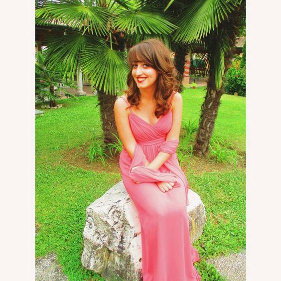 #fleiralicious  #fleirasnap  #fleira  #girlofinstagram  #girloftheday  #girl  #italian  #italiangirl  #dress  #dress  #longdress #pinkdress #summerdress #summertime #summer  #wedding #weddingtime