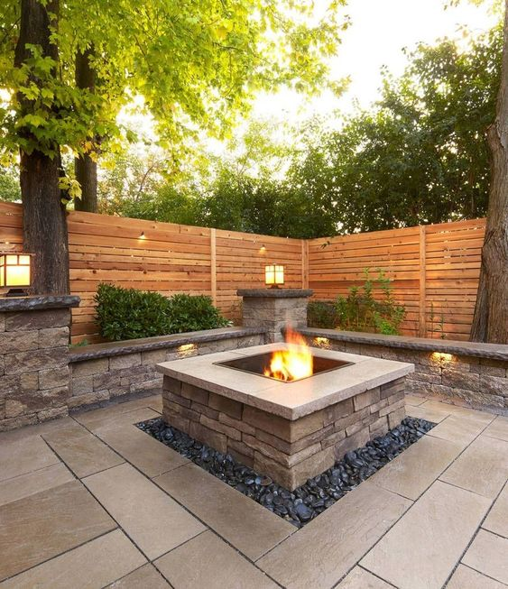 46 Best Outdoor Firepit Ideas #outdoor #outdoorfirepit #outdoorfirepitideas