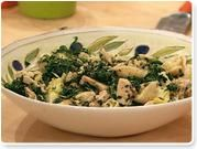 Spinach, Artichoke and Tuna Tortellini Salad
