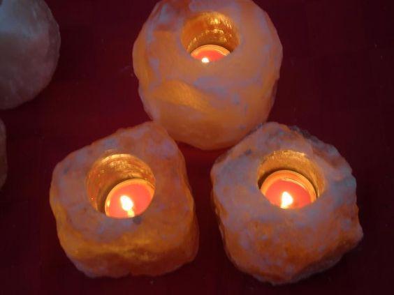 rock salt lamps Decor Pinterest Salts, Rocks and Lamps