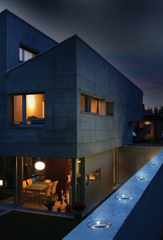 Mattone di vetro luminoso ad energia solare PHOTOVOLTAIC - SEVES DIVISIONE GLASSBLOCK