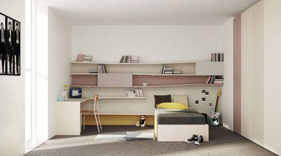 Lagolinea #bed °°° #design for your kids #bedroom °°° homedecor