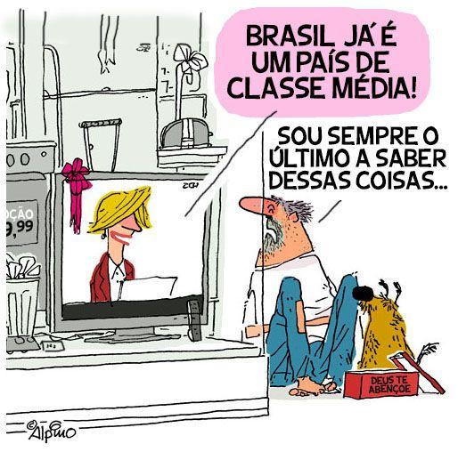 Brasil classe média in 2020 | Comics