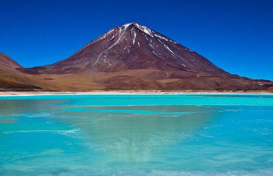 Lagon Vert, Bolivie. | 26 paysages d'Amérique Latine à couper le souffle