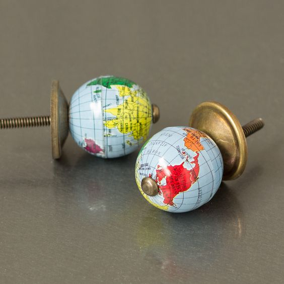 Light Globe Drawer Knobs