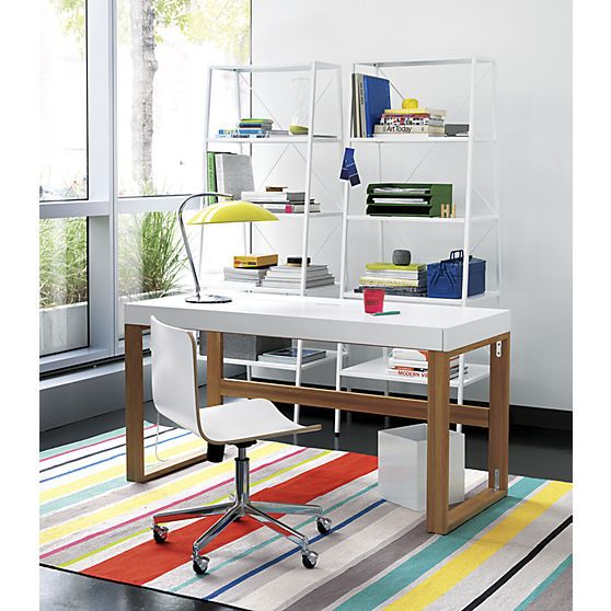 dhurrie rugs bookcases and office furniture on pinterest cb2 office