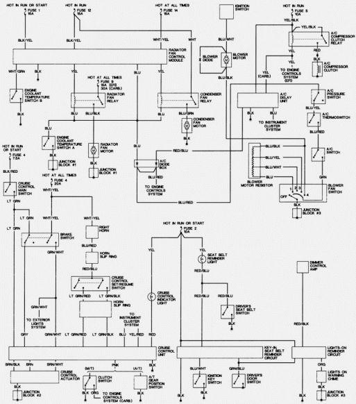 1989 In Car Wiring Schematics Third Generation Fbody