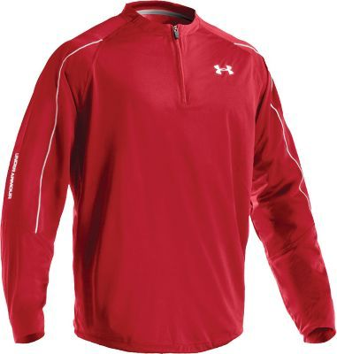 Under Armour Men's Red Prospect Jacket - Softball Jackets ...